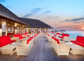 JA Manafaru - restaurace Horizon Lounge