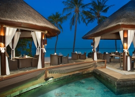 JA Manafaru - restaurace Ocean grill