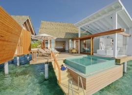 Kandolhu island - vodní vila s bazénem