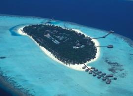 Kihaa Maldives - letecký pohled