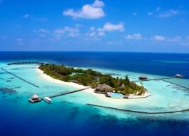 Komandoo Maldives - letecký pohled