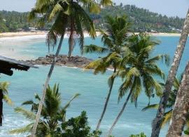 Srí Lanka - pláž