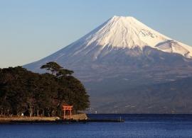 Japonsko - hora Fudži