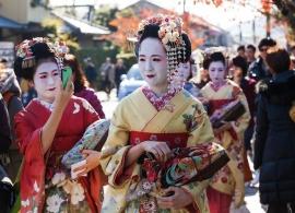 Japonsko - gejši