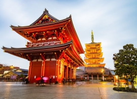 Japonsko - chrám Asakusa Tokio