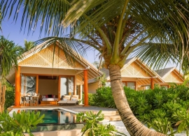 Kudafushi Maledivy - plážové vily