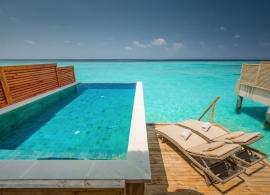 Kudafushi Maledivy - vodní vila