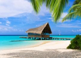 Kuramathi Island Resort - pláž