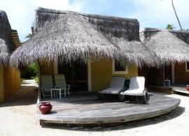 Plážový/ zahradní bungalov - Kuredu