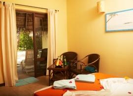 Kuredu Island resort - pokoj v plážovém/zahradním bungalovu