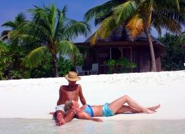 Kuredu Island resort - plážová vila Koamas