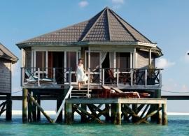 Kuredu Island resort - vodní vila Sangu