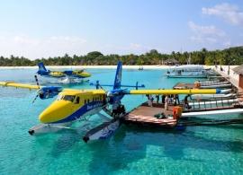 Kuredu Island resort - na Kuredu hydroplánem