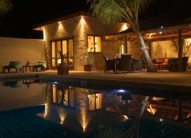Kuredu Island resort - sultánova vila s bazénem