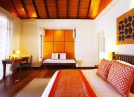 Kurumba Maldives - deluxe bungalov