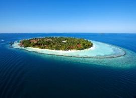 Kurumba Maldives - letecký pohled