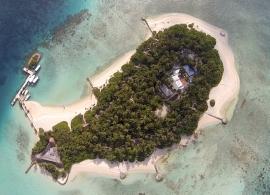 Makunudu island resort - letecký pohled