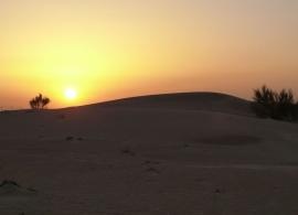 Poušť Dubaj