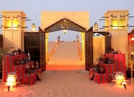 Výlet do pouště - Dubaj