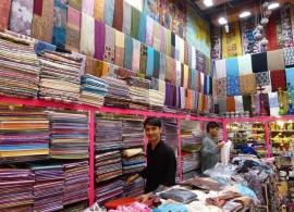 Pašmíny - trh Dubaj