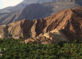 vesnice Birkat al Mauz - Omán