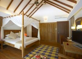 Medhufushi Island resort - plážová vila - interiér