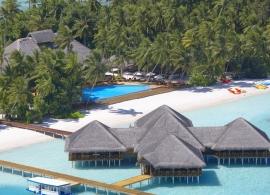 Medhufushi Island resort - bar