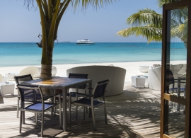 Meeru island resort - Dhoni bar