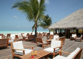 Meeru island resort - Uthuru bar
