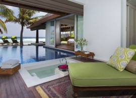 Naladhu - Ocean house s bazénem
