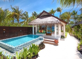 Oblu Select at Sangeli - plážová vila deluxe s bazénem