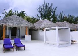 Olhuveli Beach resort - plážová vila grand