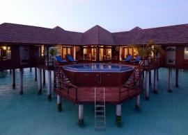 Olhuveli Beach resort - prezidentské apartmá