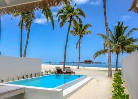 Olhuveli Beach resort - plážová suita grand s bazénem
