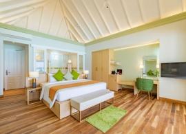 Olhuveli Beach resort - vodní vila grand