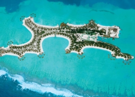 One and Only Reethi Rah - letecký pohled