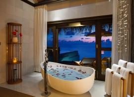 Ozen by Atmosphere at Madhoo - vily Wind, koupelna