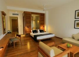 Pandanus beach resort Srí Lanka - pokoj deluxe