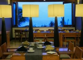 Pandanus beach resort Srí Lanka - restaurace