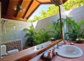 Reethi Beach resort - Reethi vila - koupelna