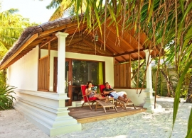 Reethi Beach resort - deluxe vila