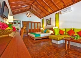 Reethi Beach resort - pokoj v deluxe vile