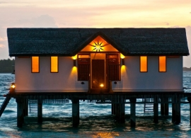 Reethi Beach resort - vodní vila