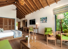 Reethi Faru resort - deluxe vila