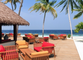 Reethi Faru resort - bar