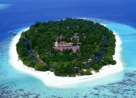 Royal island resort - letecký pohled