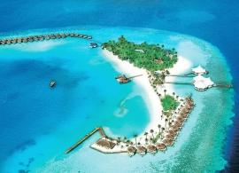 Safari island resort - letecký pohled