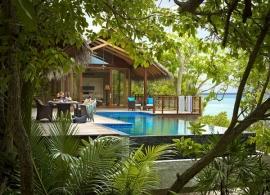 Shangri La´s Villingili Maledivy - vila Tree house