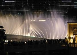 Zpívající fontána Dubaj