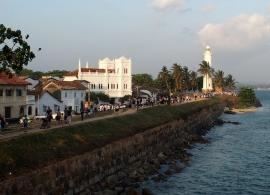koloniální město Galle